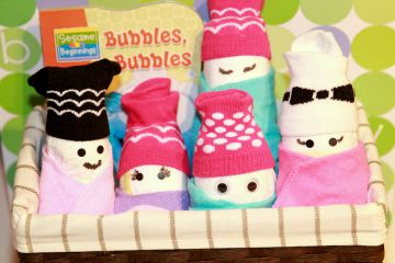 Cover Picture for Baby Shower Gift Idea of Diaper Babies