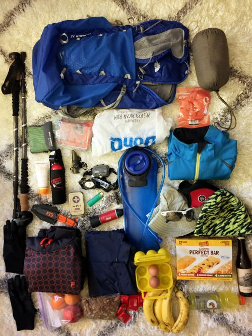 Gadgets for the mission ~ Hiking equipments for 14er