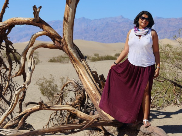 VS Maxi Skirt with slit