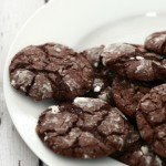 Chocolate Espresso Snowcap Cookies