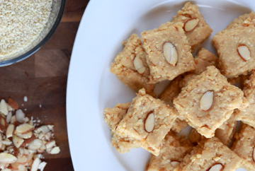 The easy til ki barfi with goodness of Sesame Seeds and Jaggery, perfect for Sankranti!