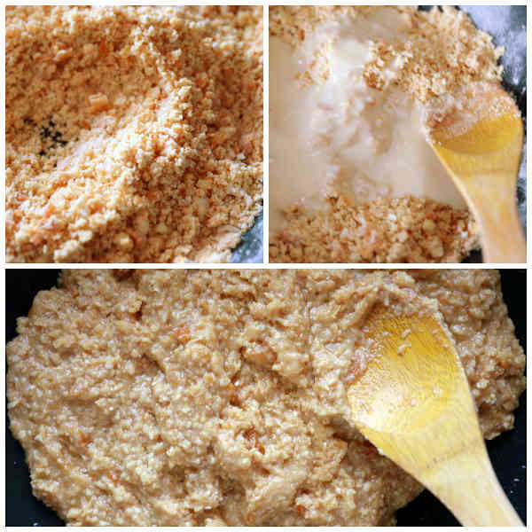 how to make sesame seed snacks
