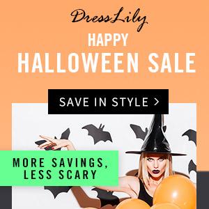 HAPPY HALLOWEEN  SALE - DressLily.com
