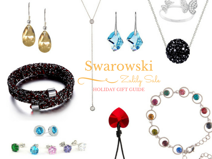 Holiday Gift Guide: Swarovski Crystal Sale on Zulily. Select from a wide range of earrings, necklace, bracelets and rings at an amazing price. Jewelry makes for a perfect gift for her.