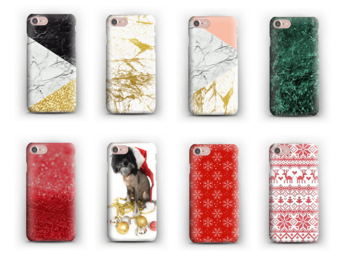 Holiday Gift Guide: Personalized items make for a perfect gift. Caseapp makes it so easy to create custom phone case with your own images or pre-built designs. These are some of the holiday special phone cases